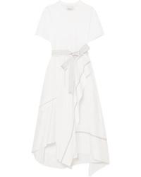 3.1 Phillip Lim Asymmetric Cotton Poplin Dress