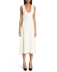 Proenza Schouler Tie Back Midi Dress