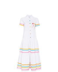 Mira Mikati Wonder Wave Ribbon Dress