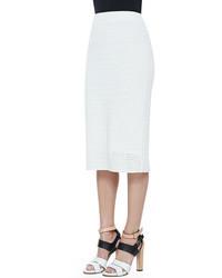 Theory Arabis Knit High Waist Skirt