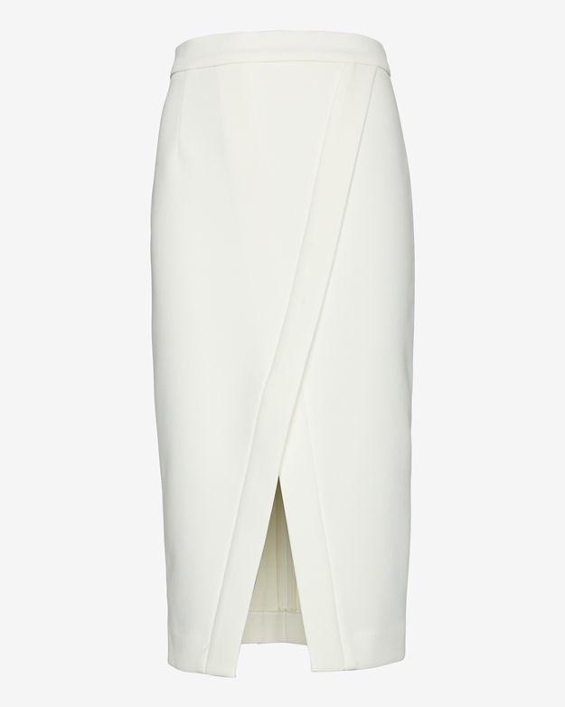 Nicholas Crossover Hem Pencil Skirt | Where to buy & how to wear
