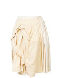 Comme Des Garçons Vintage Frayed Draped Skirt
