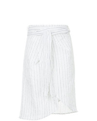 Suboo Tulum Stripe Midi Wrap Skirt