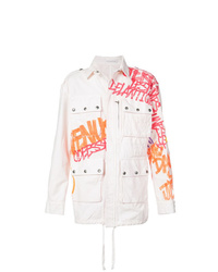 White Military Jacket