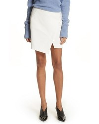 Flap front stretch miniskirt medium 8851555