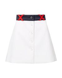 Miu Miu Ponte Mini Skirt