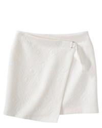 Ralsey Group Labworks Wrap Ponte Skirt White M