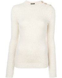 Ribbed button jumper medium 4424176