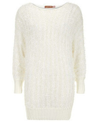 Dorothy Perkins Jolie Moi Ivory Fluffy Batwing Jumper