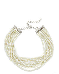 Kenneth Jay Lane Layered Choker Necklace