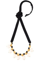 Marni Strass Ribbon Necklace
