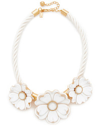 Kate Spade New York Bright Blossom Flower Statet Necklace