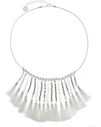 Liz Claiborne White Collar Necklace