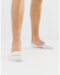Calvin Klein Invisible Socks In White