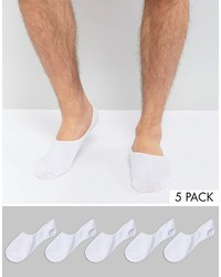 Jack and Jones Jack Jones Invisible Socks 5 Pack