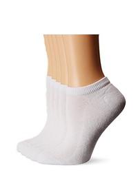 White No Show Socks