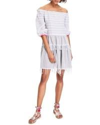 Lemlem Anana Off The Shoulder Cover Up Dress