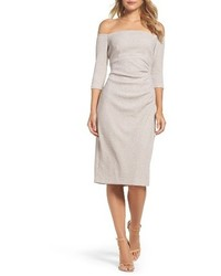 Off the shoulder sheath dress medium 4015163