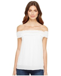 Stetson 1056 Crepe Off The Shoulder Top Clothing
