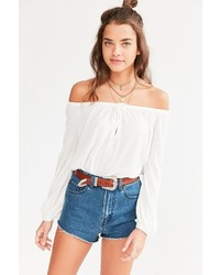 Ecote Cooper Off The Shoulder Top