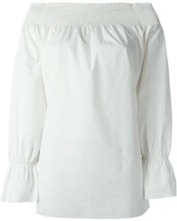 MM6 MAISON MARGIELA Off Shoulder Loose Blouse