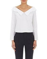 Opening Ceremony Off The Shoulder Blouse White