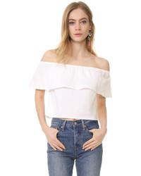 88e73849100bb Women s White Off Shoulder Tops by Splendid