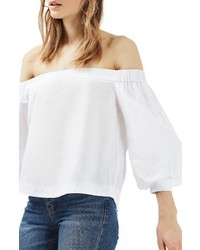 5c8653712e0f47 Women's White Off Shoulder Tops by Topshop | Women's Fashion ...