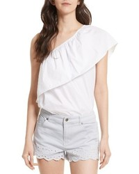 Rebecca Minkoff Rita One Shoulder Top