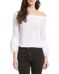 Rebecca Minkoff Tolowa Off The Shoulder Blouse