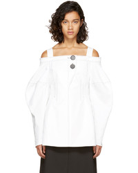 Ellery White Sugar Off The Shoulder Blouse