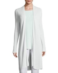Eileen Fisher Long Ribbed Cardigan Aurora Plus Size