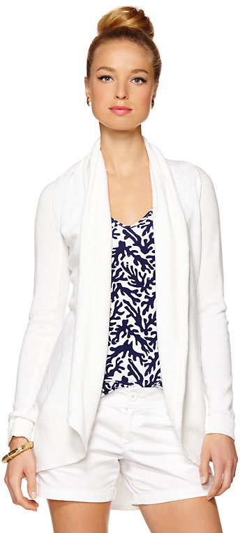 Lilly Pulitzer Hayden Open Cardigan | Where to buy & how to wear
