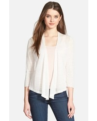 Nic+Zoe Petite 4 Way Convertible Three Quarter Sleeve Cardigan