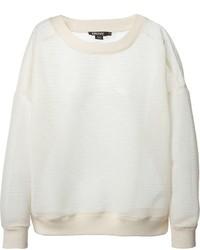 DKNY Oversize Sheer Sweater