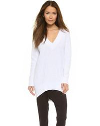 DKNY Oversized V Neck Pullover