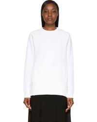 Acne Studios White Oversized Nikoleta Sweatshirt