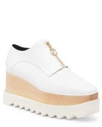Stella McCartney Zipper Creeper Oxfords