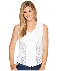 Scully Cantina Daneila Short Sleeve Paisley Top Clothing