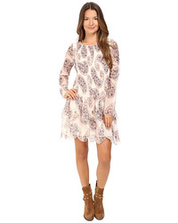 See by Chloe Crepon Paisly Tier Dress