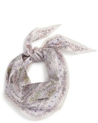 Echo Paisley Silk Diamond Scarf