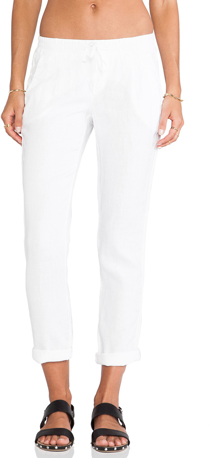 049b64c64820f5 ... Pants Michael Stars Michl Stars Linen Cuffed Pant With Tuxedo Stripe ...