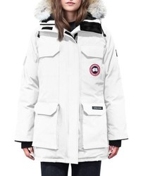 Canada Goose Expedition Hooded Down Parka With Genuine Coyote