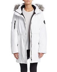 Calvin Klein Faux Fur Trimmed Arctic Parka