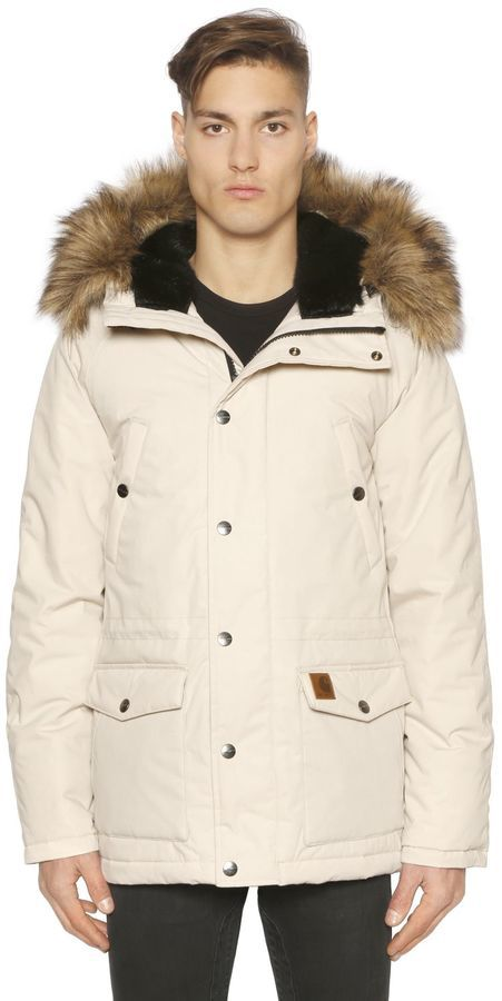 Carhartt Parka Jacket W Faux Fur | Where to buy & how to wear