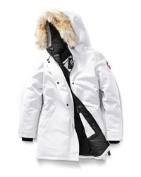 Canada Goose Victoria Down Parka With Genuine Coyote