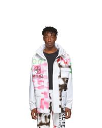 Off-White White Goretex Ski Jacket