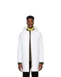 A.P.C. White Mars Coat