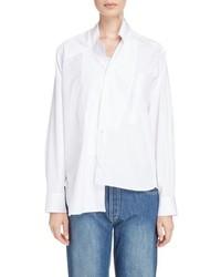 Loewe Cotton Poplin Patchwork Shirt