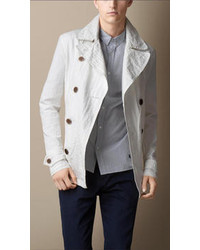 White Pea Coats for Men | Men's Fashion